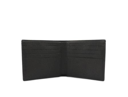 COACH兩折式小牛皮銀包 (F75084) – Black1