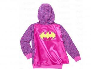 迪士尼男女兒童外套 1 件 - Batgirl (567歲)(1)