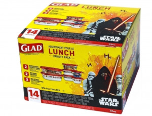 GLAD佳能密實盒 (7個盒連蓋) - - Star Wars 特別版