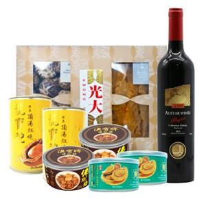 中秋BOX  Set 飽魚湯包組盒-D