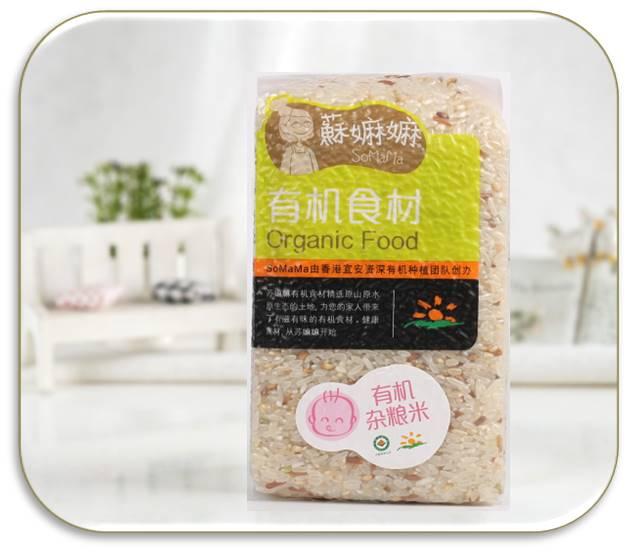 有機雜糧米-1