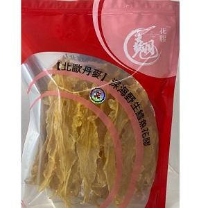 紅色翹花膠袋包裝 (5-6克) 200克_logo