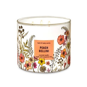 Bath and Body Works - Peach Bellini - 三蕊香薰蠟燭