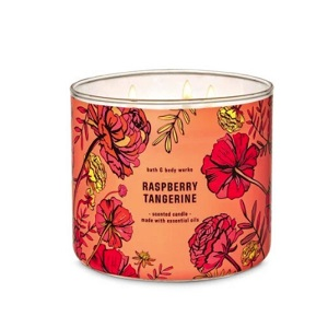 Bath and Body Works - Raspberry Tangerine三蕊香薰蠟燭