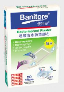 BI 14920 Bacteriaproof Plaster 20's