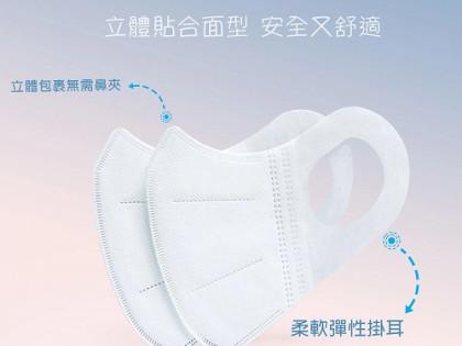 $60盒 Uplus 3D立體口罩50個裝 (香港製造)