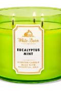Bath and Body Works - Eucalyptus Mint 三蕊香薰蠟燭1