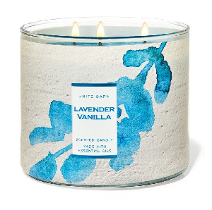 Bath and Body Works - Lavender Vanilla 三蕊香薰蠟燭