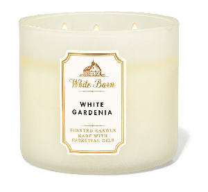 Bath and Body Works - White Gardenia 三蕊香薰蠟燭